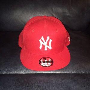"""""""NY"""" fitted SnapBack cap"""